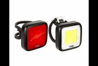 Knog Blinder MOB Mr Chips Twin Pack bicycle light set