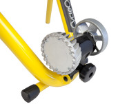 Cycleops Fluid Indoor Trainer yellow fluid unit