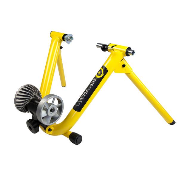 Cycleops Fluid Indoor Trainer yellow