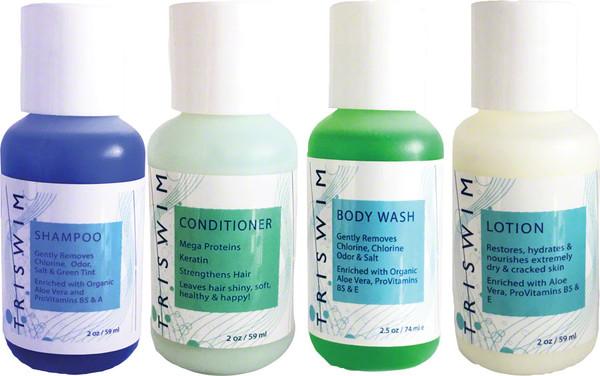 Triswim Chlorine Removal Hair and Skin Care Shot Set