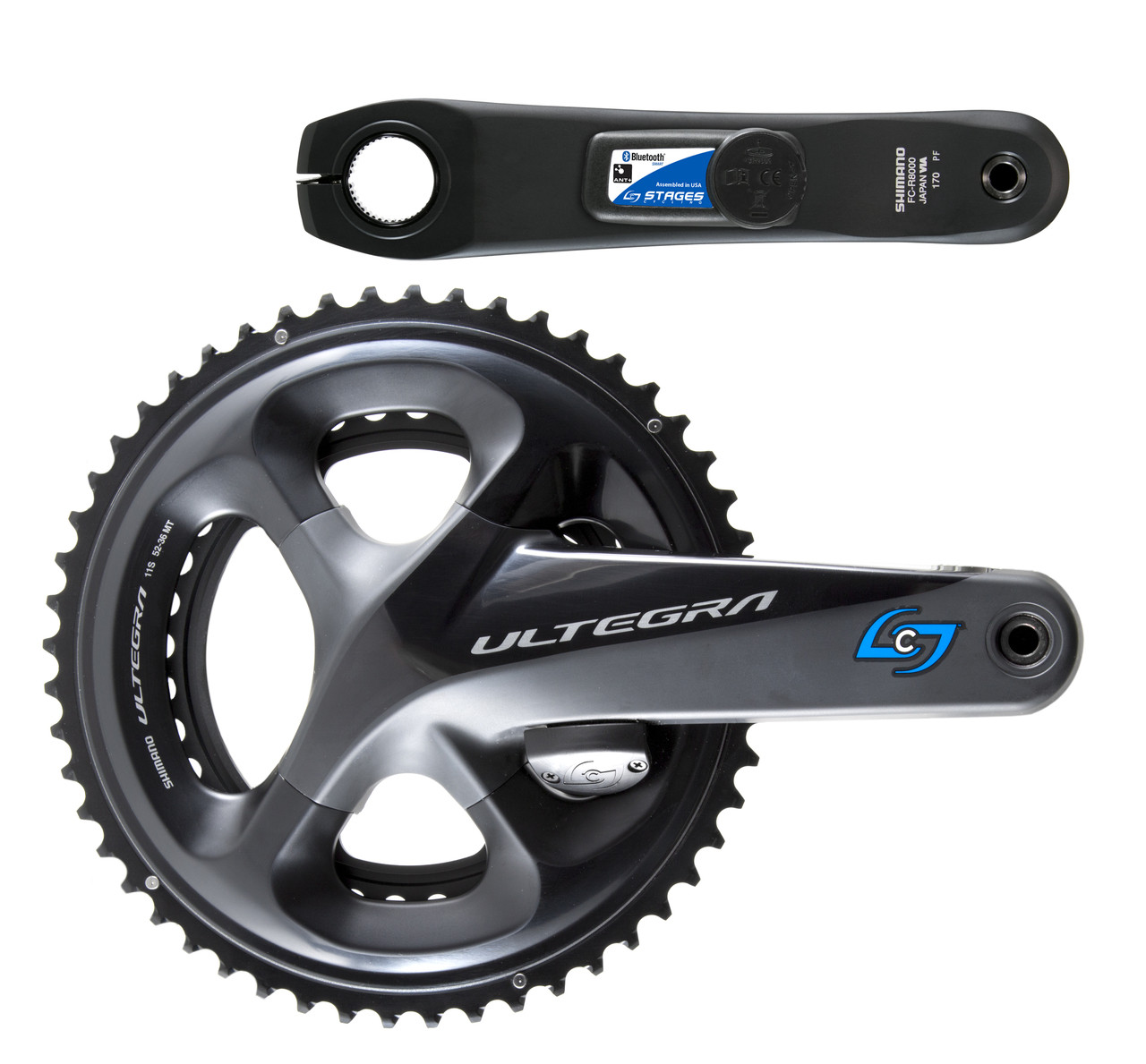 Stages Ultegra 6800 Bi-Lateral Dual Sided Crankset