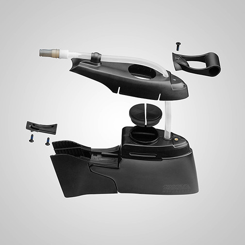 Profile Design HSF Aeria Hydration System exploded view sport factory