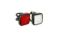 Knog Blinder Mob Kid Grid Twin Pack Front and Rear bicycle lights