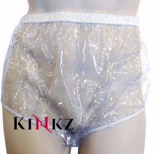 ABDL CLEAR plastic pull ups