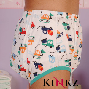 Cuddlz Toy Digger Design Padded Pull Up Pants For Adults ABDL
