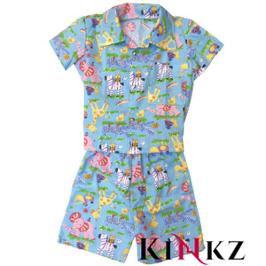 Cuddlz Blue Toy Pattern Cotton ABDL Pyjamas