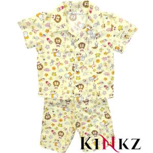 Cuddlz Yellow Toy Pattern Cotton ABDL Pyjamas