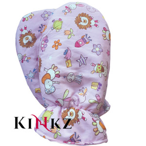 Pink Toy Pattern Adult Baby Mittens - Cuddlz padded abdl mittens