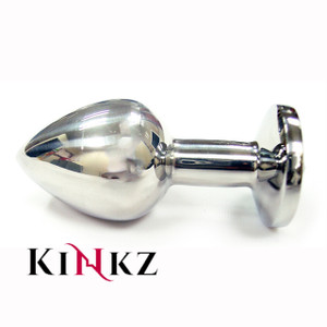 STAINLESS STEEL ANAL BUTT PLUG (SMALL) BDSM FETISH