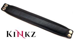 Black Leather arm band for bondage bdsm armband master slave clubbing