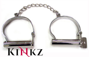 STAINLESS STEEL ANKLE SHACKLES