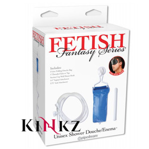 Fetish Fantasy Series Unisex Enema Anal OR Vaginal Douche Kit