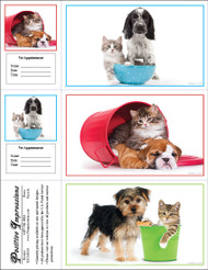 3DCMIX18 - 3 Up Reminder Cards