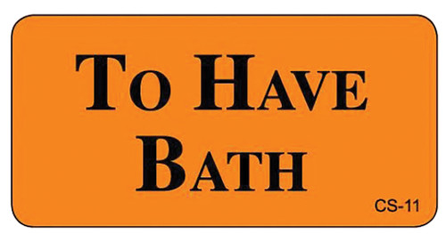 CS-11 - Cage Stickers - To Have Bath