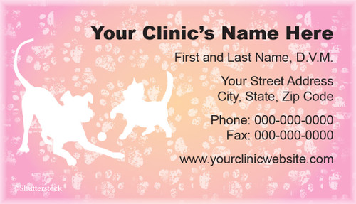 VBCSTD124-Standard, Appointment Backed, or Magnetic Business Card