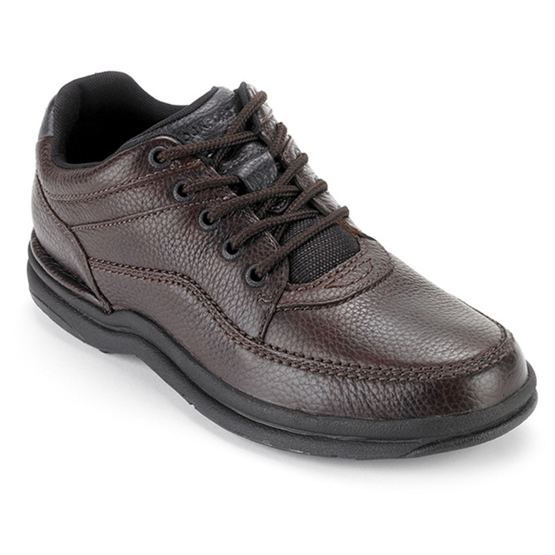 Rockport Men's World Tour - Tumbled Brown Leather