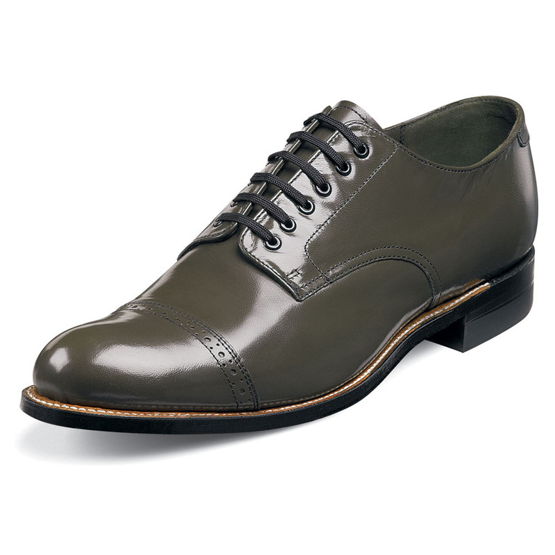 Stacy Adams Men's Madison Cap Toe Oxford - Olive