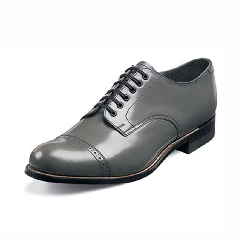 Stacy Adams Men's Madison Cap Toe Oxford - Gray