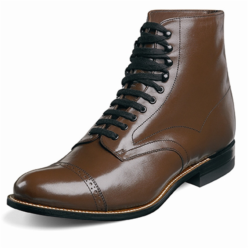 Stacy Adams Men's Madison Ankle Boot - Brown