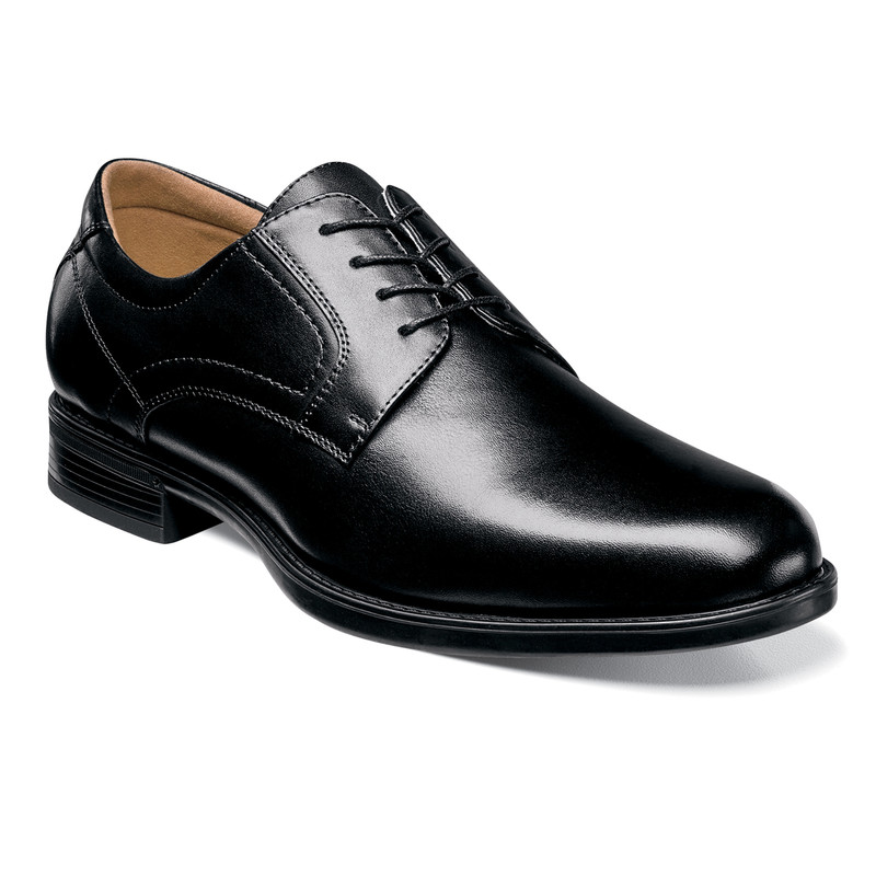 Florsheim Men's Midtown Plain Oxford - Black