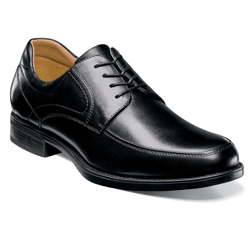 Florsheim Men's Midtown Moc Toe Oxford - Black