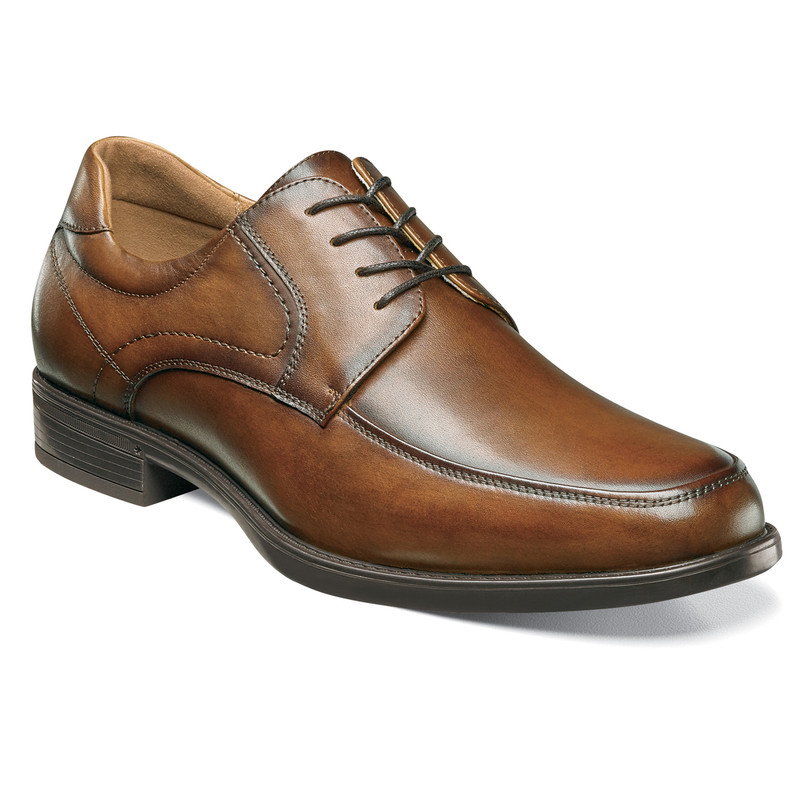 Florsheim Men's Midtown Moc Toe Oxford - Cognac