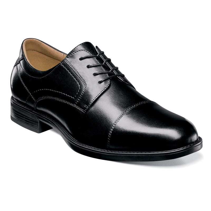 Florsheim Men's Midtown Cap Toe Oxford - Black