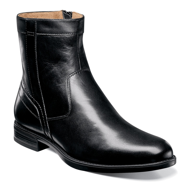 Florsheim Men's Midtown Zipper Boot - Black