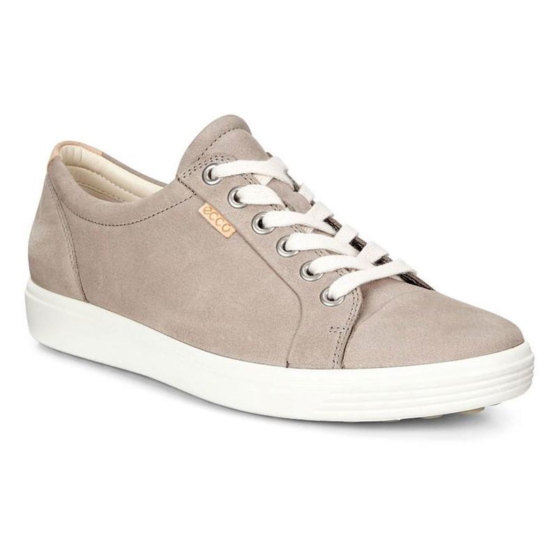 ECCO Women's Soft 7 Sneaker - Warm Grey