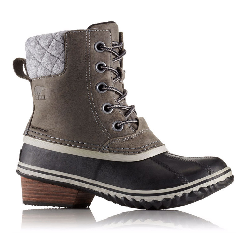 SOREL Women's Slimpack II Lace Duck Boot - Quarry