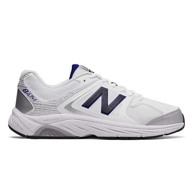 New Balance 847v3 Men's Walking - White with Grey