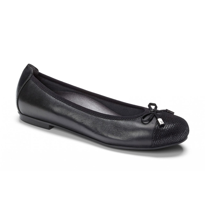 VIONIC Women's Minna Ballet Flats - Black