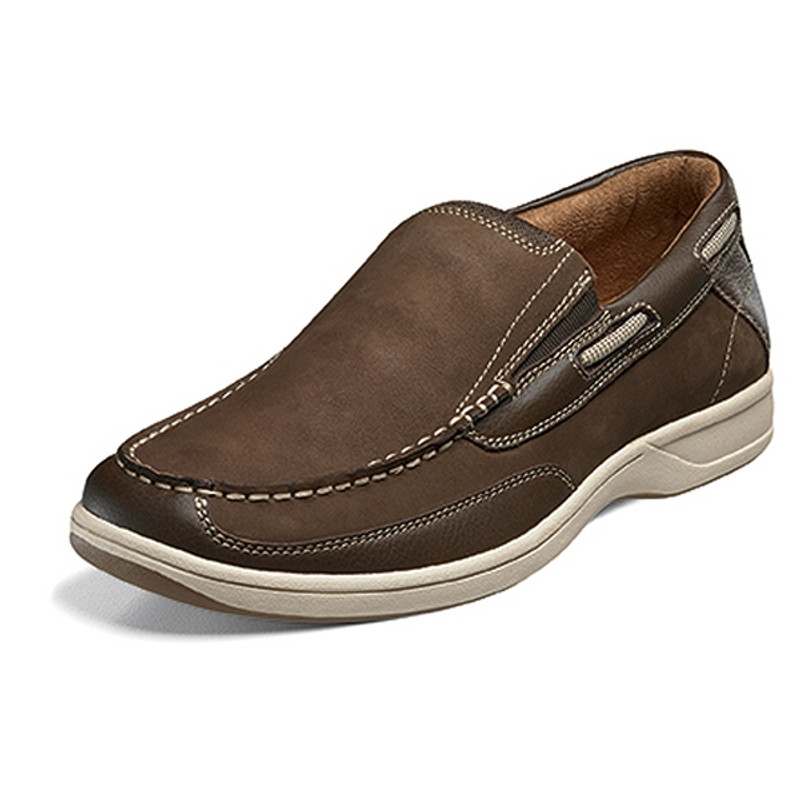 932b210a1fc Florsheim Men s Lakeside Slip-On - Brown Nubuck