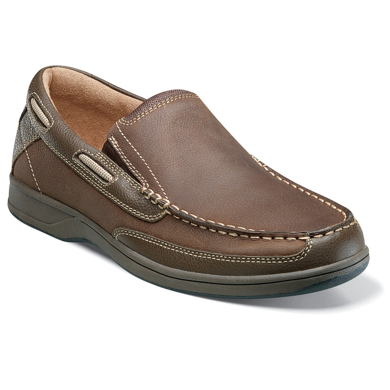 Florsheim Men's Lakeside Slip - Stone