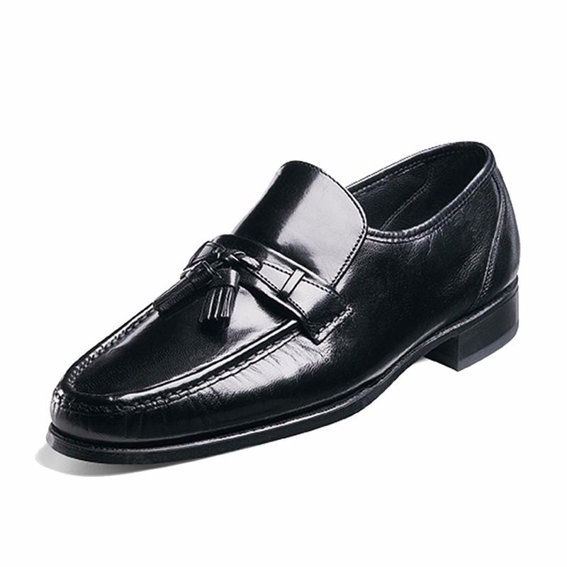 Florsheim Men's Como - Loafer with Tassels Black