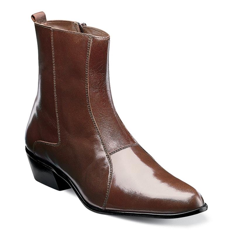 Stacy Adams Men's Santos Boot - Cognac
