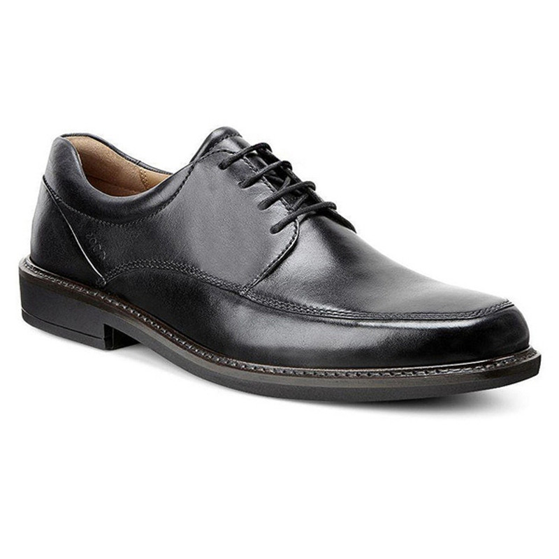 ECCO Men's Holton Apron Toe Tie - Black
