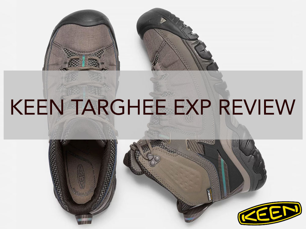 KEEN Targhee EXP compared to Targhee II
