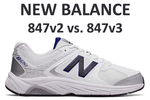 New Balance 847v2 vs 847v3 - What's the difference?