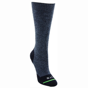 FITS Men's Medium Crew Hiker Socks - Navy