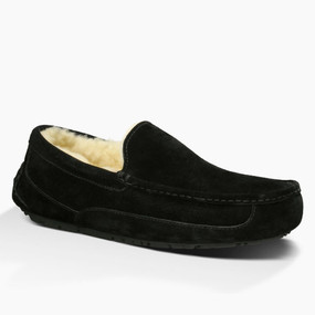 UGG Men's Ascot - Black Suede