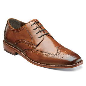 Florsheim Men's Castellano Wing Ox - Saddle Tan