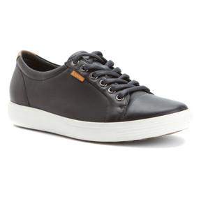ECCO Women's Soft 7 Sneakers - Black