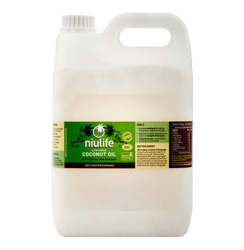 Bulk Certified Organic Extra Virgin Coconut Oil - 5L Jerry Can