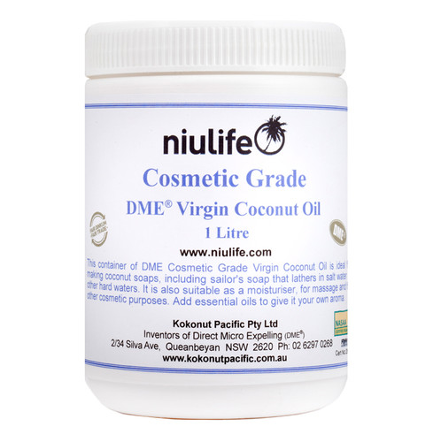 Cosmetic Grade - Virgin Coconut Oil  - 1L Jar