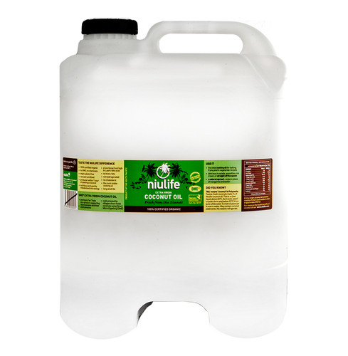 Bulk Certified Organic Extra Virgin Coconut Oil - 20L Cube