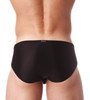 Rear view of black Voyeur brief by Gregg Homme