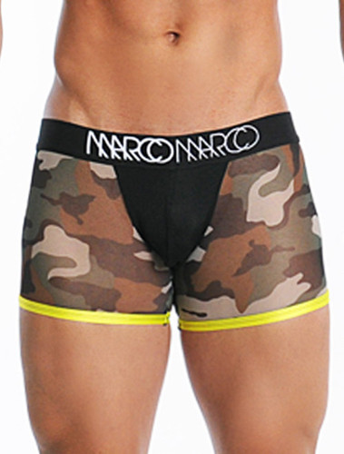 Men's Underwear - Front view of GI Marco Boxer Brief