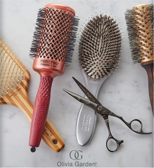 Olivia Garden Ceramic Ion Thermal Brushes