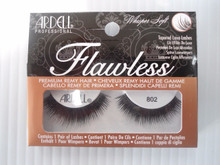 Ardell Strip Lashes Flawless #802 Black (Pack of 4) 3 Easy Steps